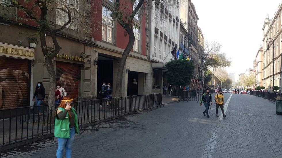 El miércoles, en México se registraron 11 mil 653 nuevos casos y 816 defunciones por COVID-19 - Foto de Autoridad del Centro Histórico