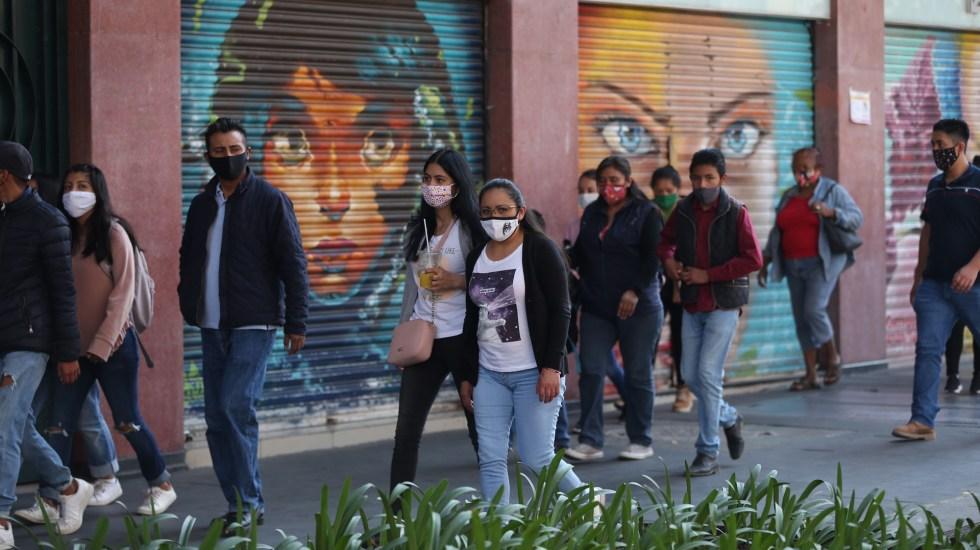 """""""Es falso lo que se plantea ahí"""", responde Sheinbaum a artículo del NYT - Ciudad de México en Semáforo Rojo por COVID-19. Foto de EFE"""