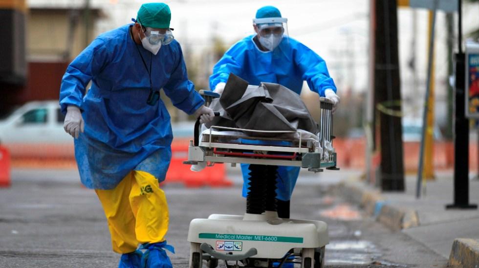 Otra vez más de 12 mil contagios de COVID-19 y máximos de ocupación hospitalaria. Los muertos, 685 - Foto de EFE