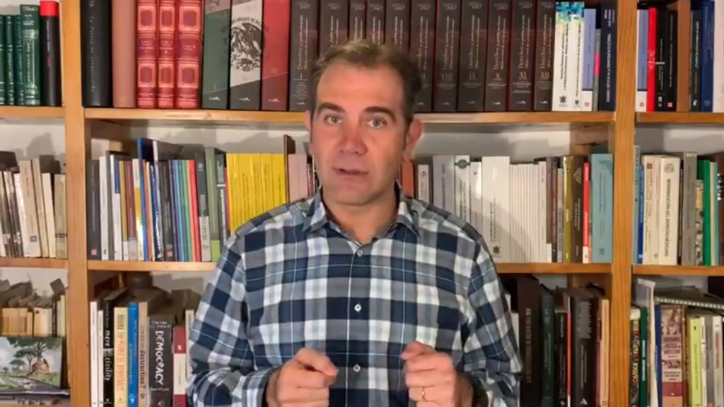 Impugna Morena acuerdos de 'cancha pareja' del INE; aclara Lorenzo Córdova que aplican para todos - Lorenzo Córdova. Captura de pantalla