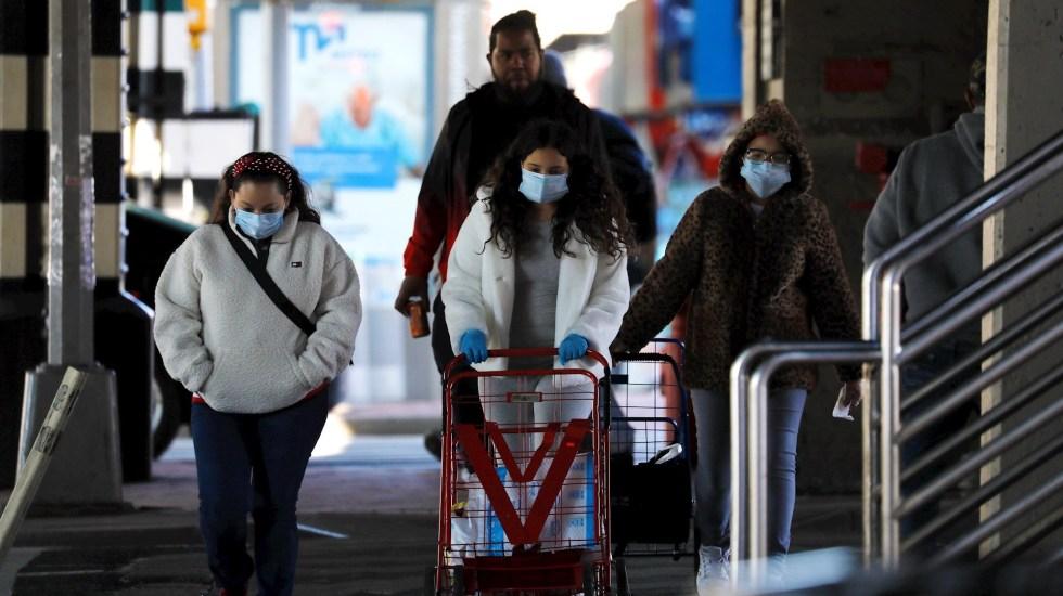 """Biden advierte que los días más oscuros de la pandemia """"están por llegar"""" en Estados Unidos - Foto de EFE/Peter Foley/Archivo."""
