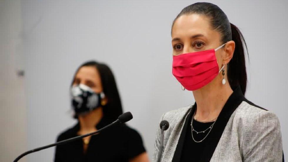 Claudia Sheinbaum en desacuerdo con declaración de OMS; asegura que México se toma en serio la pandemia - Declara Claudia Sheinbaum que no coincide con la OMS respecto a que en México no se tome en serio repunte de contagios. Foto Twitter @Claudiashein