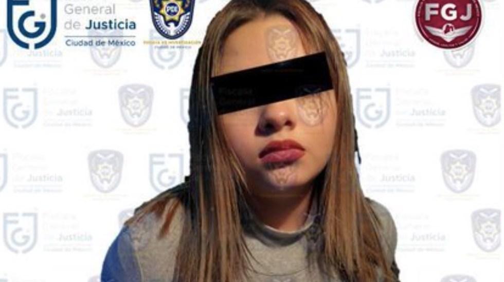 Vinculan a proceso a la hija de 'El Betito' por asesinato de su novio menor de edad - Foto de Fiscalía General de Justicia CDMX