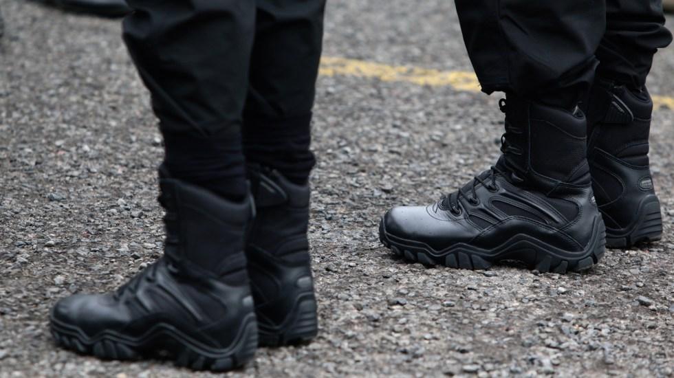 Refuerza Policía Estatal de Jalisco seguridad en Puerto Vallarta - Elementos de la Policía Estatal de Jalisco. Foto de @SSeguridadJal