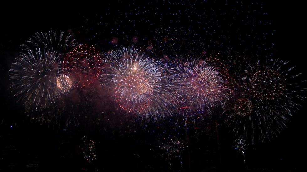 Cancela Guerrero espectáculos pirotécnicos de Fin de Año; prohíbe también globos de cantoya - Espectáculo pirotécnico. Foto de Trust