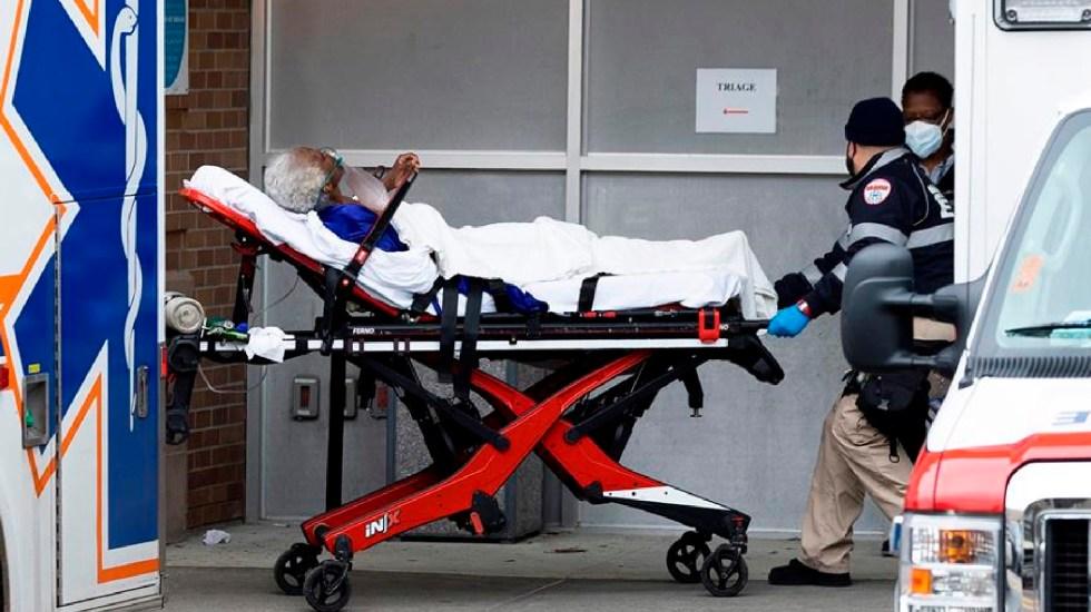 Estados Unidos rompe récord de 90 mil muertes por COVID-19 en enero - Estados Unidos registra mil 110 muertes y 181 mil 309 nuevos contagios en las últimas 24 horas. Foto EFE