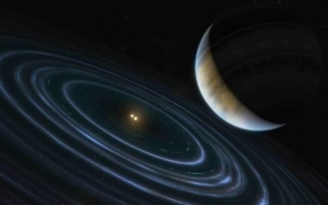 """Exoplaneta arroja luz sobre teoría del """"noveno planeta"""" en nuestro Sistema Solar - Exoplaneta arte universo"""