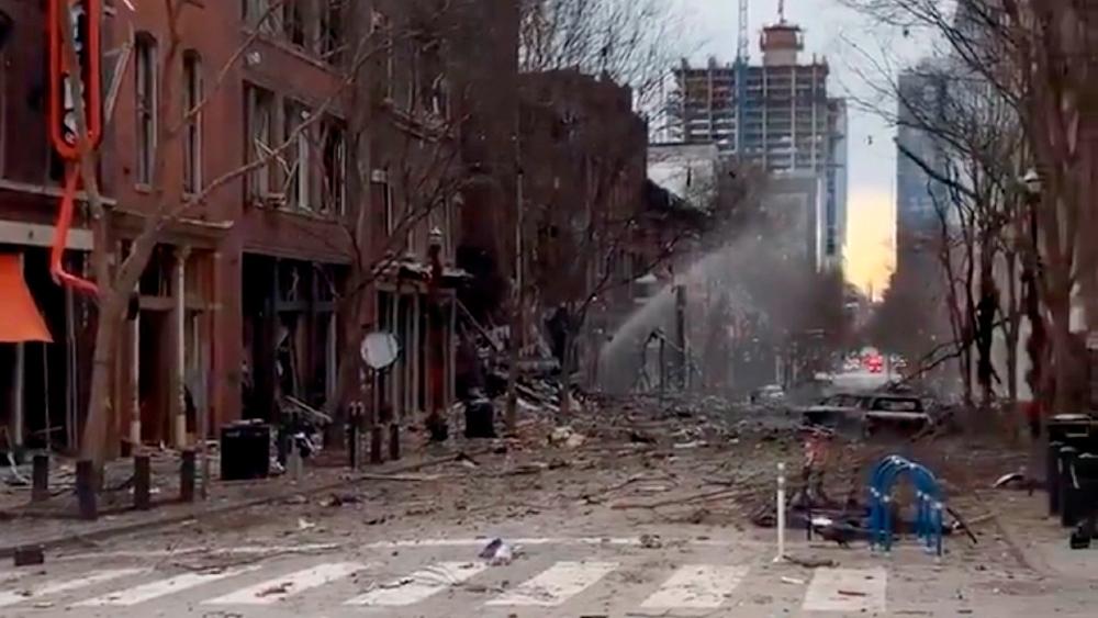 Autoridades de EE.UU. creen que explosión en Nashville pudo ser un acto suicida - Foto de EFE