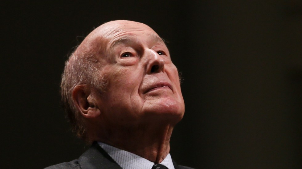 Murió el expresidente de Francia, Valéry Giscard d'Estaing - Expresidente de Francia, Valéry Giscard d'Estaing. Foto de EFE