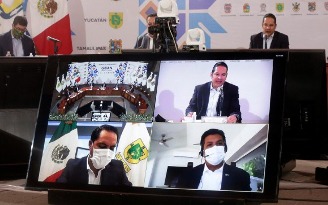 Gobernadores de Acción Nacional implementan Política Común de Salud para enfrentar COVID-19 en invierno - Foto de GOAN