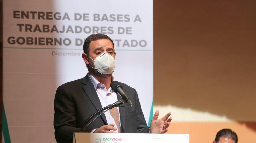Alejandro Tello, gobernador de Zacatecas, da positivo a COVID-19 - Gobernador de Zacatecas da positivo a COVID-19. Foto Twitter @ATelloC