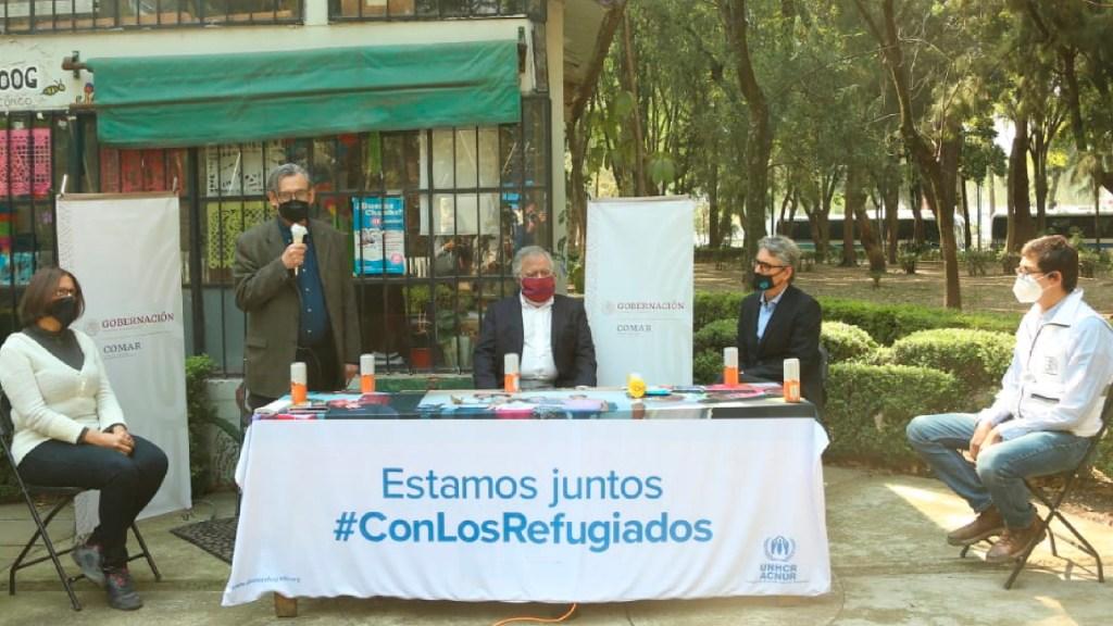 México se prepara para recibir más refugiados ante crisis por pandemia - Gobierno de México se prepara para recibir más refugiados ante la pandemia. Foto Twitter @comar_sg