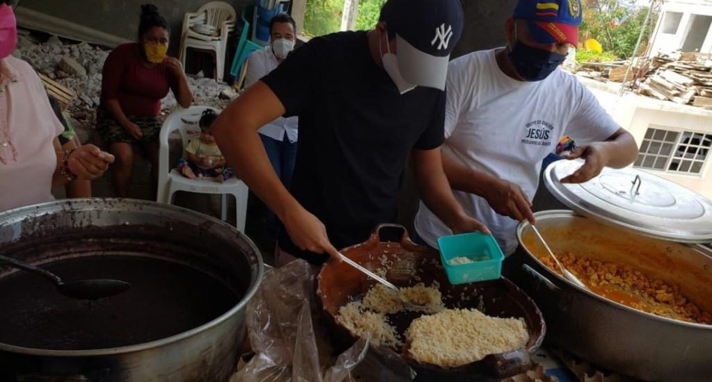Destaca Héctor Astudillo apoyo a comedores sociales en Guerrero durante la pandemia - Guerrero comedores sociales