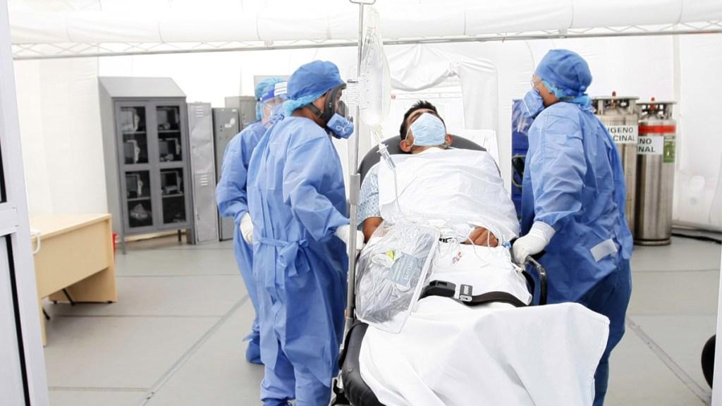 COVID-19 no será la última pandemia en el mundo: OMS - Hospitalización por COVID-19 en Guanajuato. Foto de @SaludGuanajuato