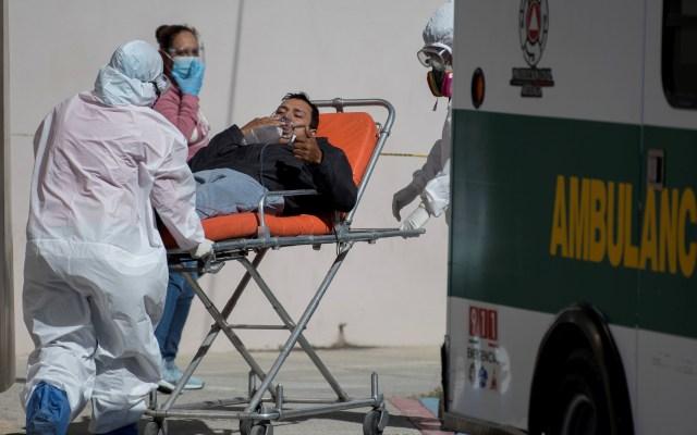 Repunte en casos de COVID-19 en México es reflejo de festejos de las últimas semanas, asegura SSA - Hospitalización por COVID-19 en la Ciudad de México