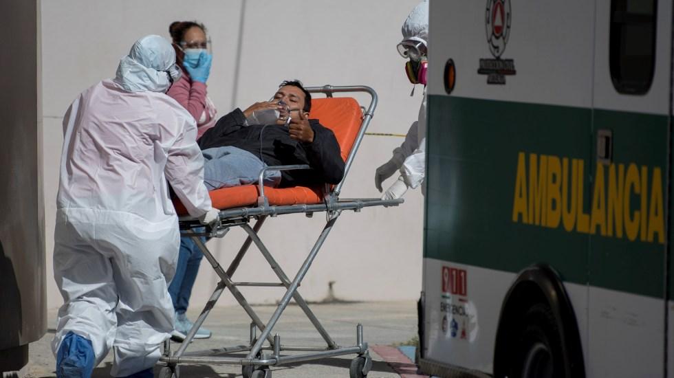 Rebasa Valle de México escenario crítico de hospitalizaciones por COVID-19 - Hospitalización por COVID-19 en la Ciudad de México
