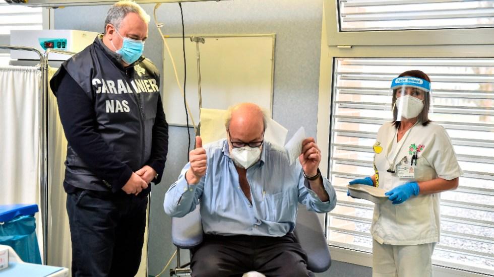 Italia tendrá 13 millones de personas vacunadas contra el COVID-19 en abril - Foto de EFE