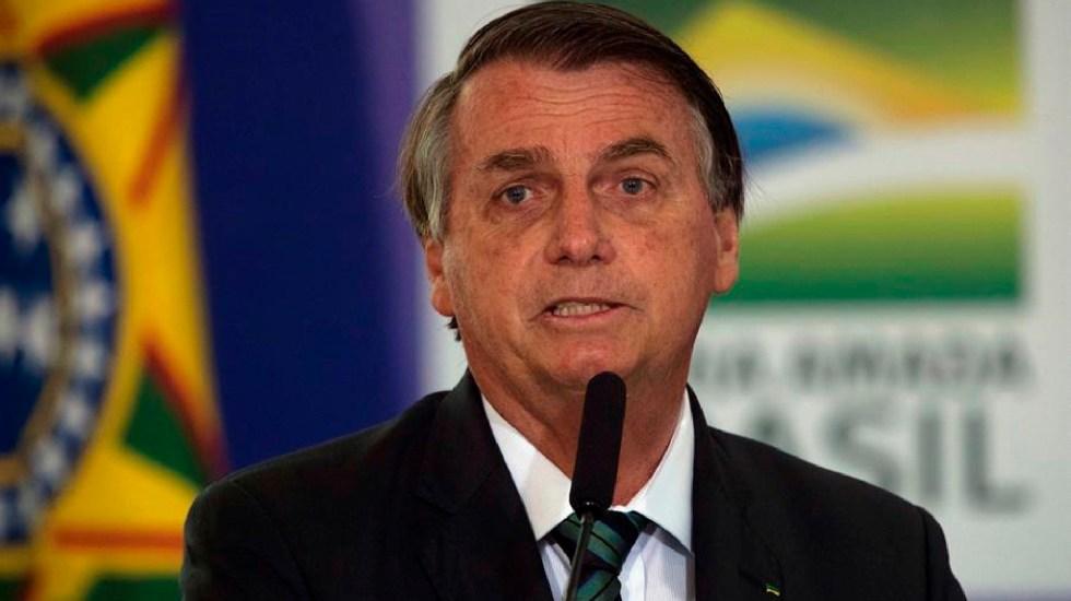 Jair Bolsonaro asegura que la mejor vacuna contra el COVID-19 es el propio virus - Bolsonaro indultará a policías que mataron en