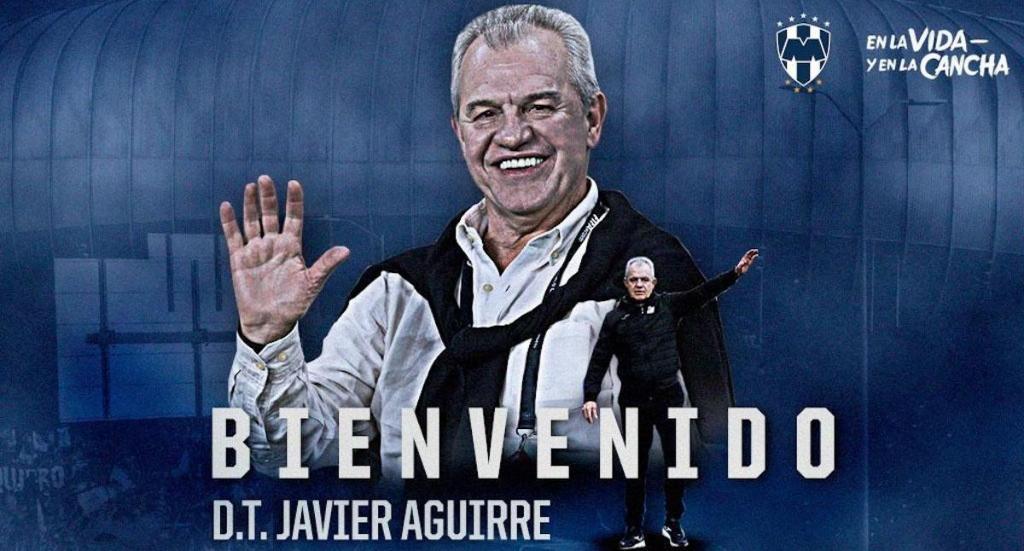 OFICIAL: Javier Aguirre, nuevo técnico de Rayados - Javier Aguirre. Foto de Rayados de Monterrey.