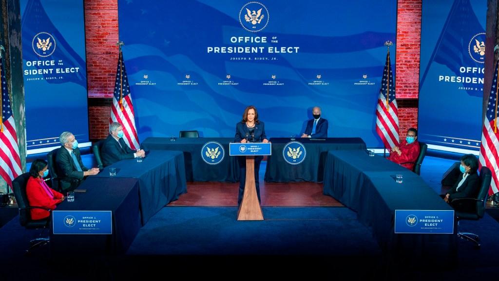 Presenta Joe Biden lista de nominados a ocupar puestos clave en su Administración - Joe Biden presenta lista de candidatos para ocupar puestos clave en la nueva administración. Foto Twitter @KamalaHarris