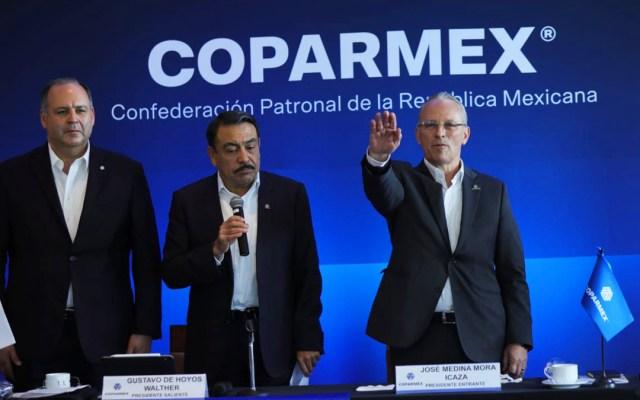 Elige Coparmex a José Medina Mora como su nuevo presidente nacional - José Medina Mora como nuevo presidente de Coparmex. Foto de @Coparmex
