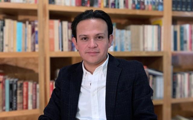 Mexicano gana premio Vargas Llosa con obra sobre 'el arquitecto de Hitler' - Juan Rivera Arroyo. Foto de EFE