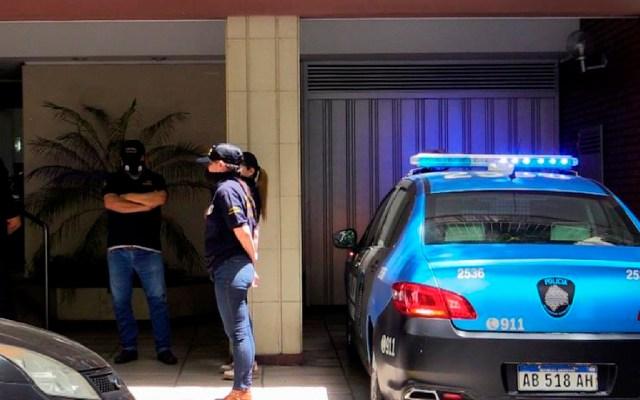 Allanan casa y consultorio de psiquiatra de Maradona en Buenos Aires - Justicia argentina ordena registrar la casa y el consultorio de la psiquiatra de Maradona. Foto EFE
