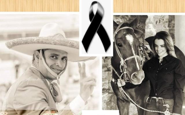 Detienen en Guanajuato a presunto asesino de joven queretana y empresario - Lorenzo Ríos y Karen Hervey. Foto de @Charros Store JG