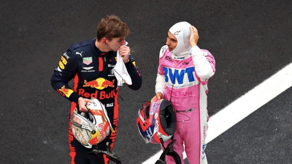 Verstappen celebra la llegada a Red Bull de 'Checo' Pérez para el duelo con Mercedes - Foto de F1