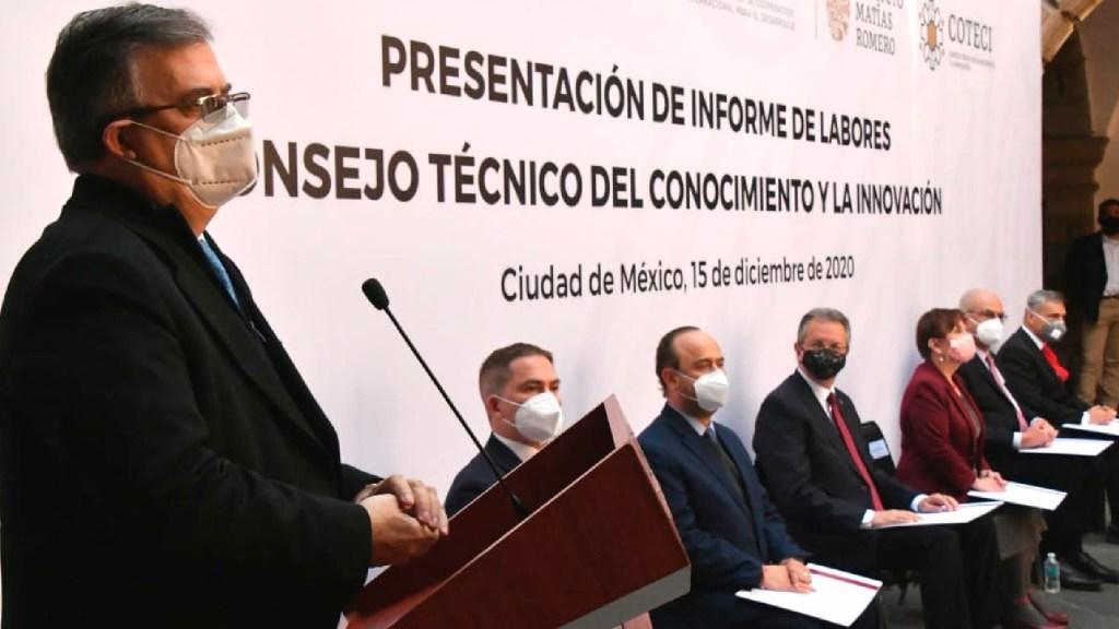 """""""México debe tener su propia vacuna contra el COVID-19 próximo año"""", afirma Ebrard - México debe tener su propia vacuna contra el COVID-19 el próximo año, afirma Ebrard. Foto Twitter @m_ebrard"""