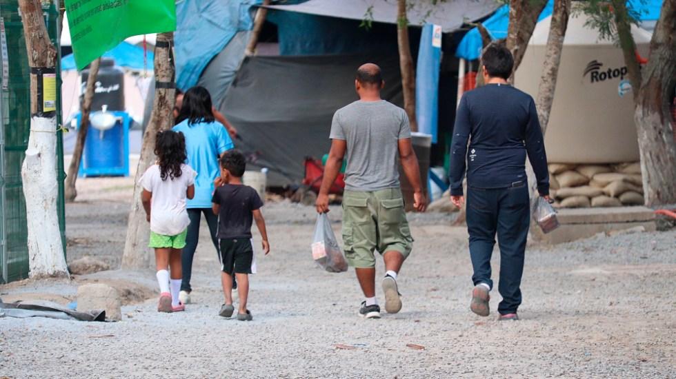 Migrantes en México aguardan con esperanza el 2021 tras un año dramático - Foto de EFE