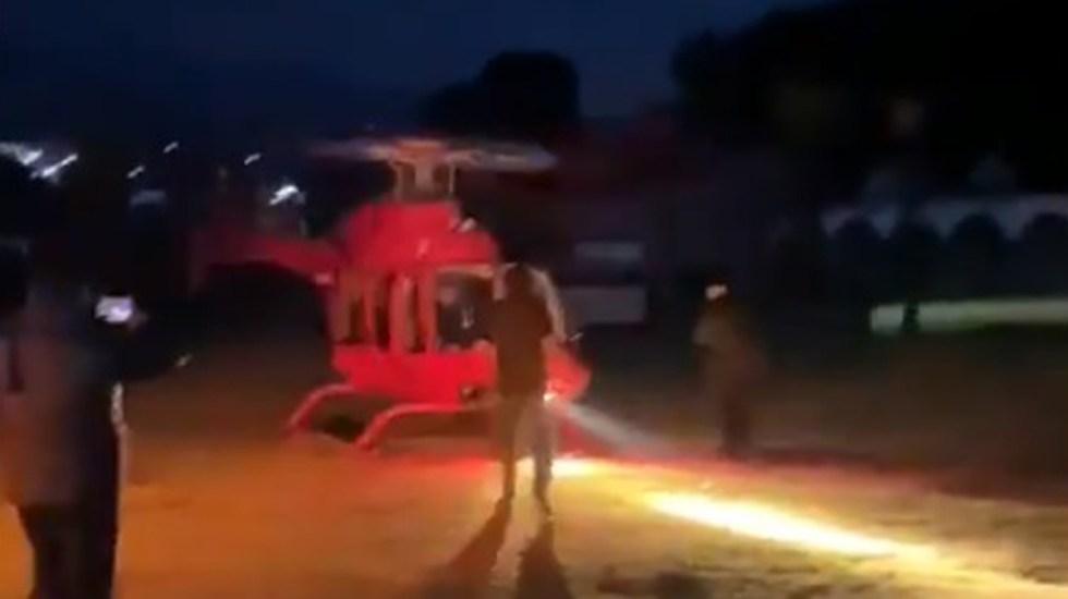 #Video Muere empresario tequilero tras golpe de hélice en la cabeza - Momento en que empresario se acerca a helicóptero y hélice lo golpea. Captura de pantalla