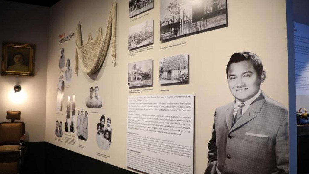 Homenajean en Yucatán a Armando Manzanero con museo - Museo Casa Manzanero en Mérida. Foto de Gobierno de Yucatán