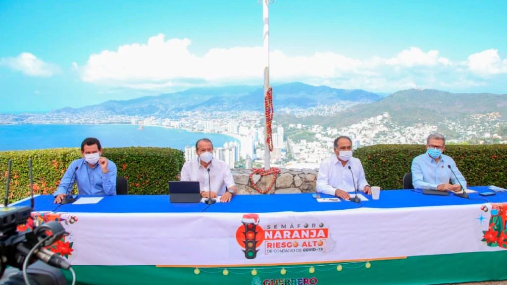 Pandemia no permite mayor llegada de visitantes a Guerrero, advierte Héctor Astudillo - Pandemia no permite mayor llegada de visitantes a Guerrero por los protocolos ante COVID-19, aclara Héctor Astudillo Flores. Foto Twitter @HectorAstudillo