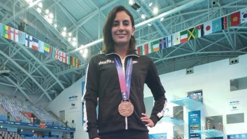 La doble medallista olímpica Paola Espinosa vence al COVID-19 - Foto de Paola Espinosa