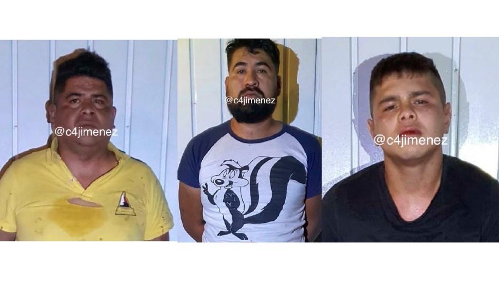 Policía de la CDMX captura a tres integrantes de la banda 'Los Zapotitla' - Policía de la CDMX captura a tres integrantes de la banda 'Los Zapotitla'. Foto Twitter @c4jimenez