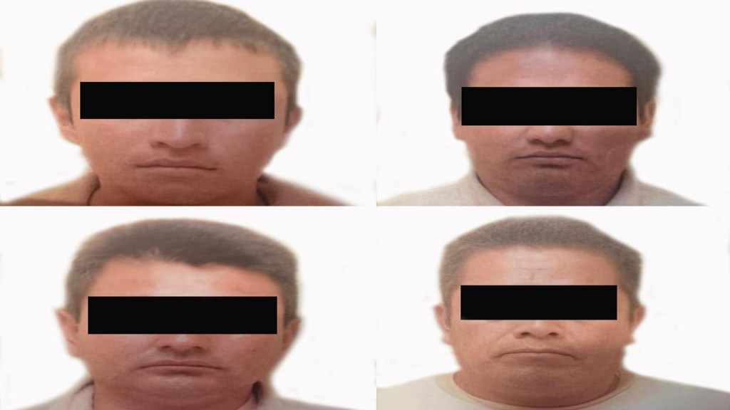 Dan 50 años de cárcel a cuatro hombres por asesinato de militares en Puebla - Sentenciados por asesinato de militares en Puebla. Foto de FGR