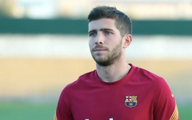 Sergi Roberto da positivo a COVID-19; se mantendrá aislado en su domicilio - Foto de Twitter Barcelona