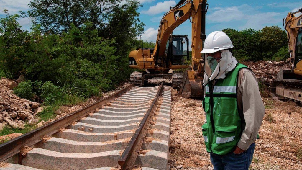 Recursos que se obtengan a través del Tren Maya se destinarán al Ejército - Foto de EFE