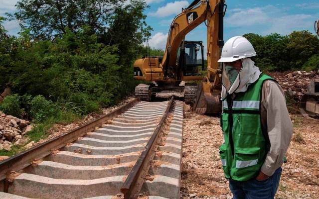 López Obrador pide a Grupo Carso acelerar obras del Tren Maya - Foto de EFE