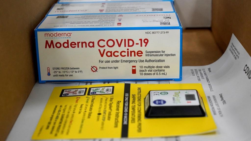 Inicia en EE.UU. distribución de vacuna contra COVID-19 de Moderna - Vacuna contra COVID-19 de Moderna. Foto de EFE
