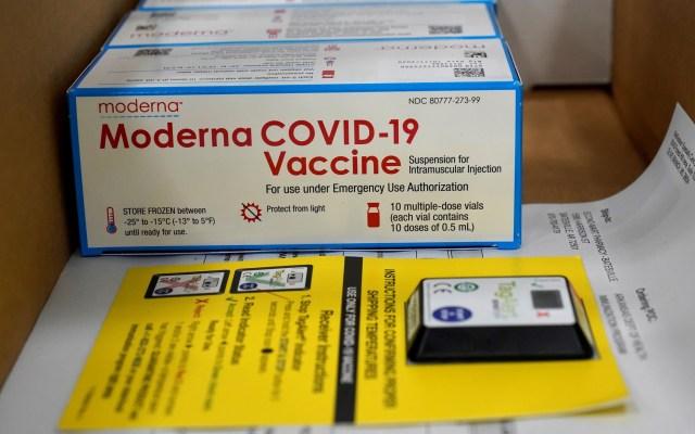Canadá autoriza la vacuna contra COVID-19 de Moderna - Vacuna contra COVID-19 de Moderna. Foto de EFE