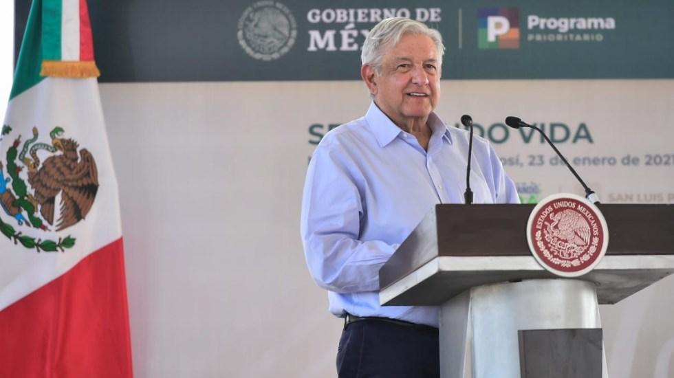 López Obrador recibe apoyo, pero también críticas tras dar positivo a COVID-19 - AMLO Andrés Manuel López Obrador San Luis Potosí 5