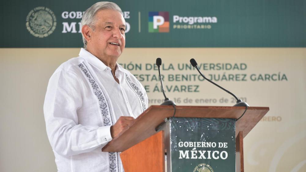 """AMLO afirma que al terminar su sexenio se va a jubilar; """"no voy a estar como dirigente eterno"""", dijo - Foto de lopezobrador.org.mx"""