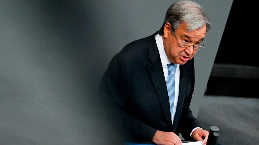 António Guterres anuncia que aspirará a un segundo mandato como jefe de la ONU - Foto de EFE