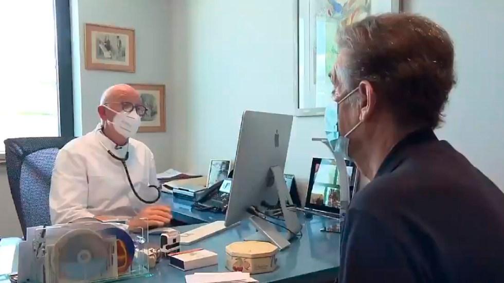 Bajan contagios y muertes por COVID-19 en Francia - Bajan contagios y muertes por COVID-19 en Francia. Foto Captura de pantalla