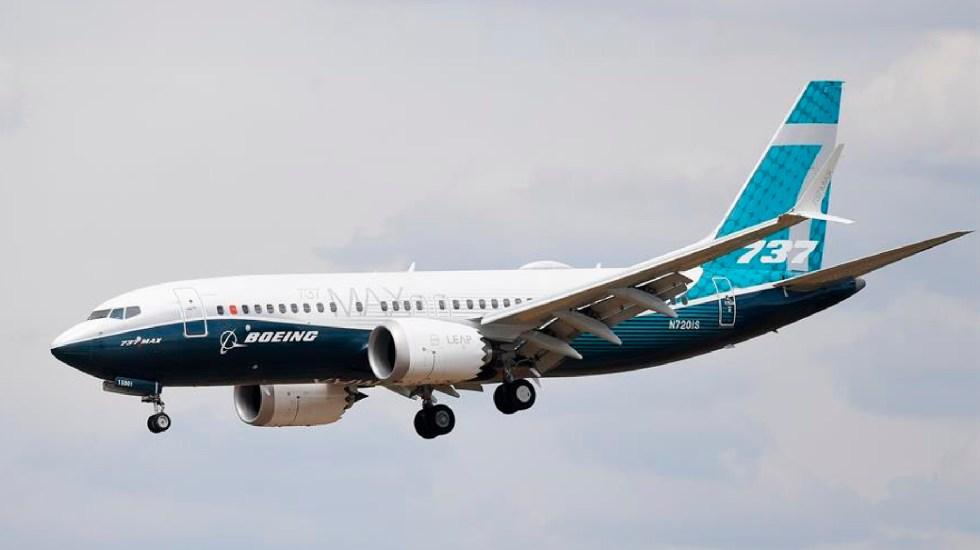 Boeing pagará 2 mil 500 mdd a EE.UU. para cerrar investigación a aviones 737 MAX - Boeing pagará 2 mil 500 mdd a EE.UU. tras investigación a aviones 737 MAX. Foto EFE