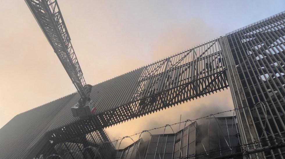 Incendio en subestación eléctrica del Metro deja un muerto y 29 trabajadores intoxicados por humo; suspenden servicio en seis líneas - Foto de Twitter Claudia Sheinbaum