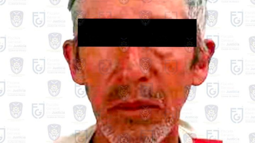 Capturan a padre de Fátima, menor hallada muerta en Tláhuac - Capturan a padre de Fátima, menor de edad cuyo cadavér fue hallado en Tláhuac. Foto Twitter @FiscaliaCDMX