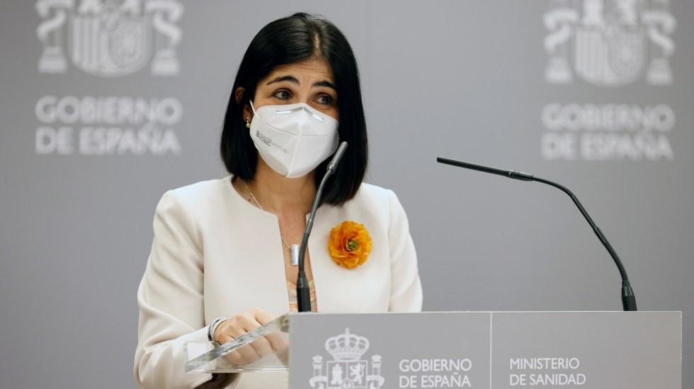 España estrena ministra de Sanidad en tercera ola de COVID-19 - Nueva ministra de Sanidad de España, Carolina Darias. Foto de EFE